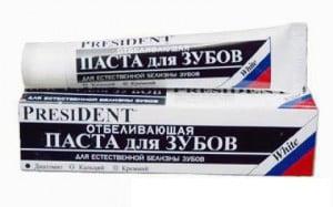Zubnaja pasta Prezident
