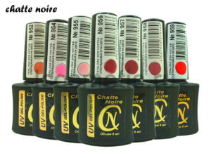 лаки для ногтей Chatte Noire